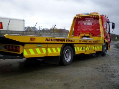 One of our recovery vehicles with quick roadside attendance times from our depot near Letterkenny, County Donegal, Ireland